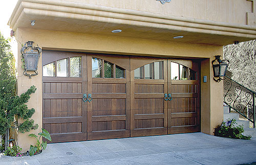 Custom Wood Doors Overhead Door Company Of South Central